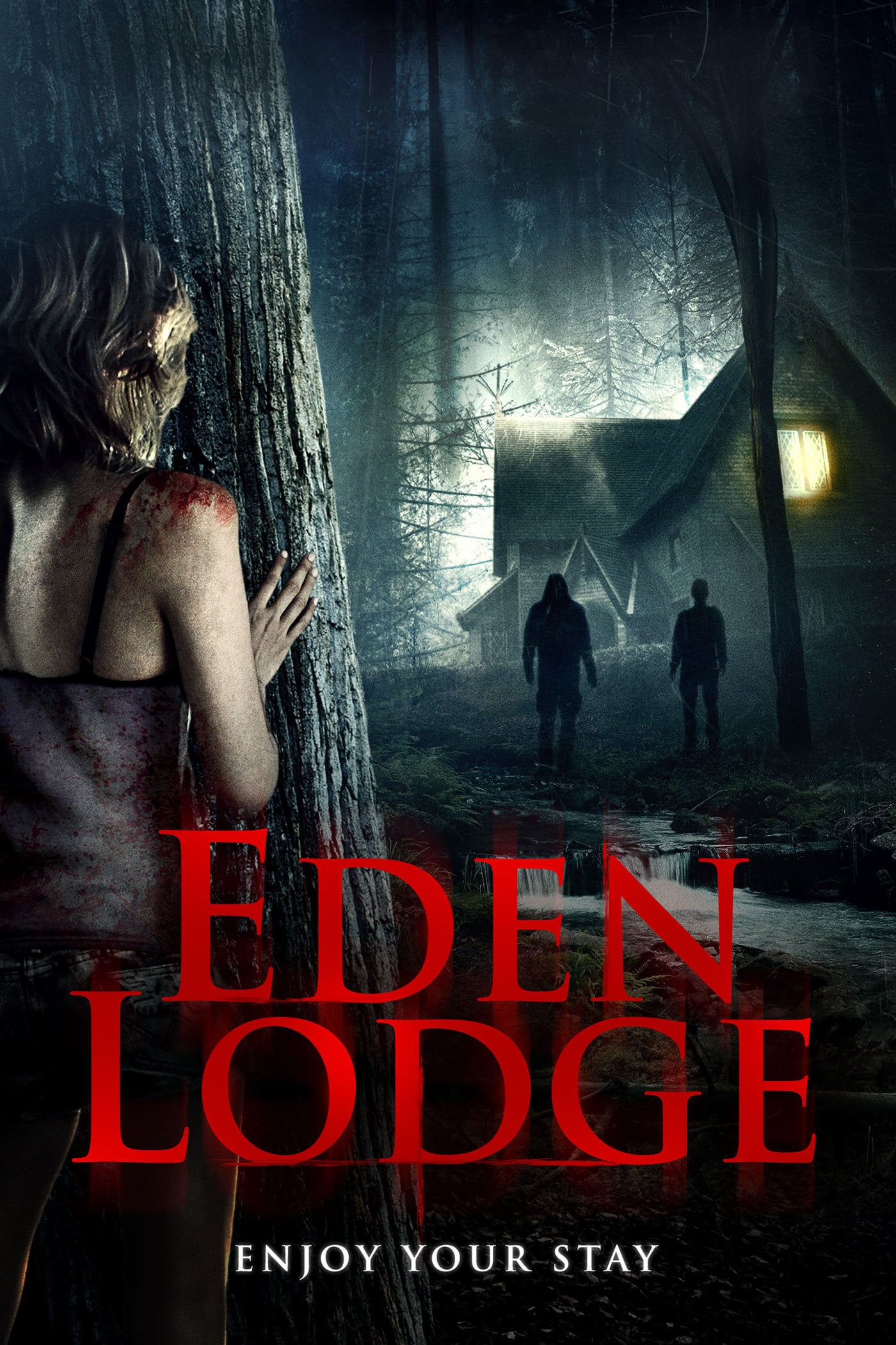 "Poster for the movie ""Eden Lodge"""