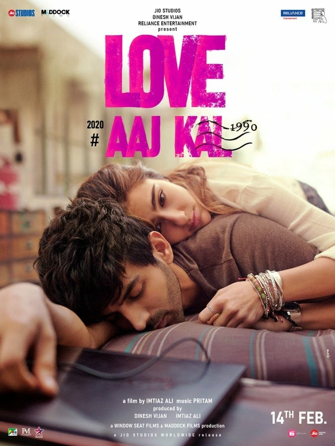 "Poster for the movie ""Love Aaj Kal"""